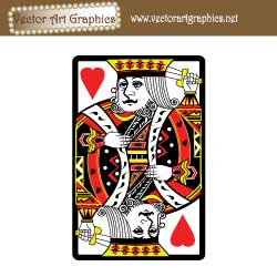 King of Hearts Free Vector Graphic Playing Card