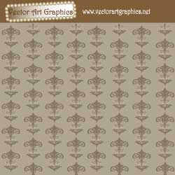 Floral Pattern Vector Wallpaper